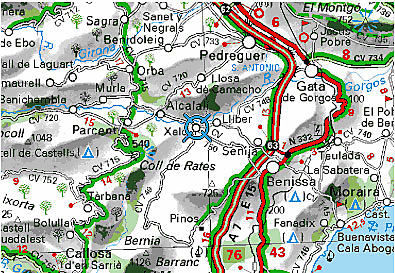 Coll de Rates - last - Thursday mid afternoon