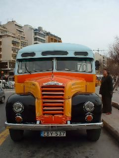 More vehicle blogging - Malta buses 2