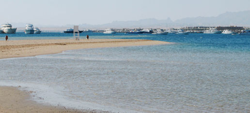 Siva Grand Beach, Hurghada - first impressions Saturday 3rd March