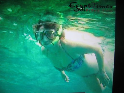 Snorkelling in the Red Sea on Thurs