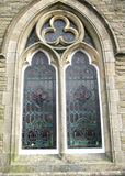a window in the former Methodist church