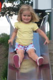 Annie on the slide