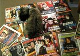 Benji claiming Beth's old music magazines 13 Mar 2013