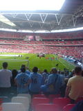 Catch up time! - 7th Aug - My first visit to Wembley