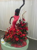 Harrogate Flower Show - flower arranging