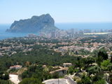 last day on the way back to Alicante - aided by the sat nav took unexpected detour into hills above Calpe!