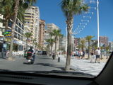 last day on the way back to Alicante - Benidorm; Cala beach; the beast that was supposed to be a Ka!