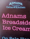 love broadside and love ice cream but...