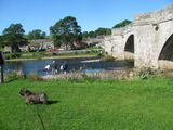 Sun 20th Sept walk to Burnsall and at the knockout cricket tournament