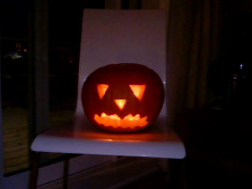 My very first pumpkin carving