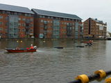 Hoovering Gloucester Docks