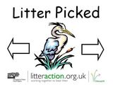 Our 'Litter-Picked' Window Poster