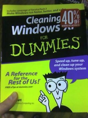 Cleaning Windows for Dummies