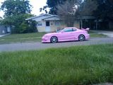 Bitchin' tricked out pink Tiburon!