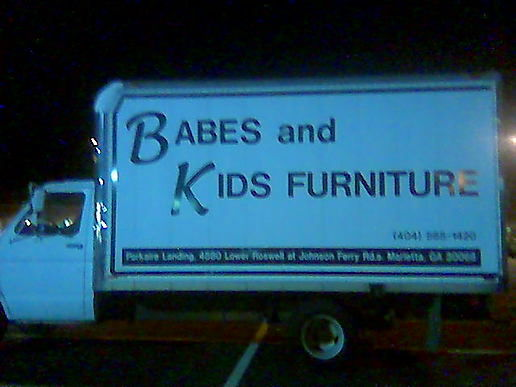 Babes (and kids furn.) by the truckload