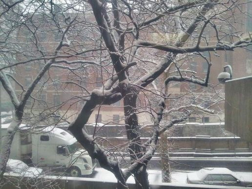Snow, from Morningside Heights