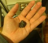 A lump of the Sikhote-Alin meteorite