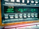 Electronic Climate Control my entire ass