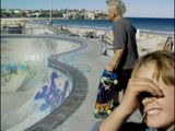 Punk and child bondi beach summer o six.
