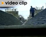 The race from the roof. Wake up your nei