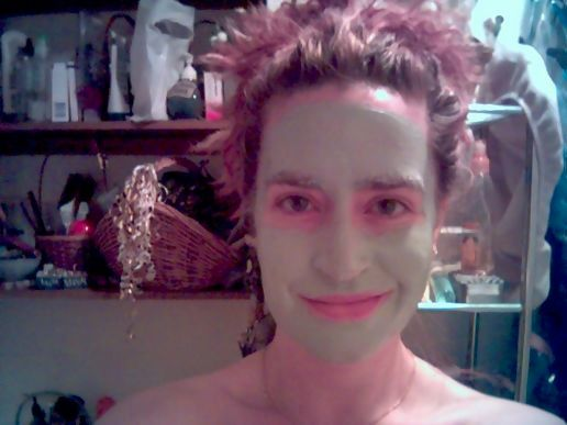 Green clay mud masque