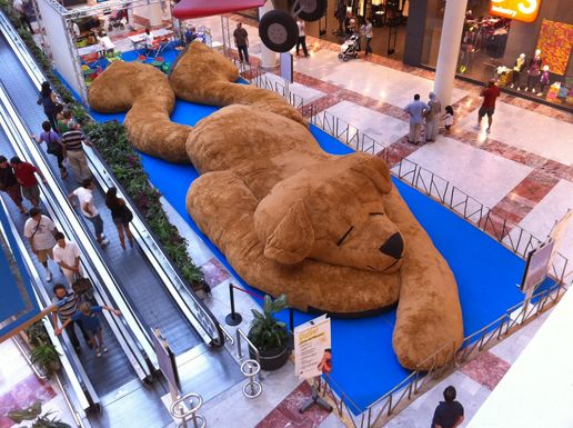 Biggest teddy bear on earth